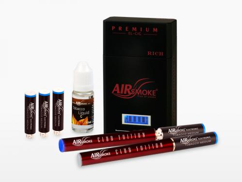 Premium Rich Electronic cigarette : Red color'