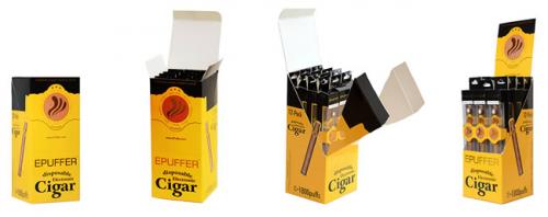 ePuffer Electronic Cigar Retail POS Display'
