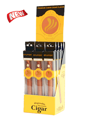 ePuffer Electronic Cigar Retail 12-pack