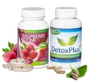 Raspberry Ketone Plus & Detox Plus'