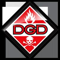 Company Logo For dangerous goods shipping'