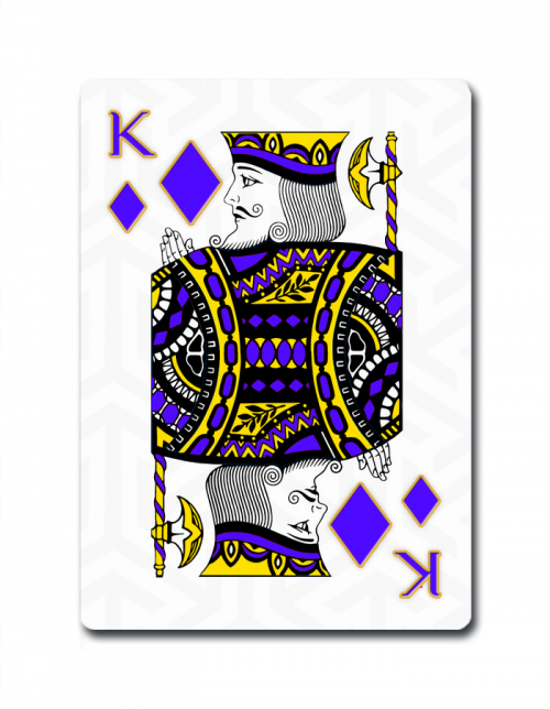 Tutankhamun Playing Cards'