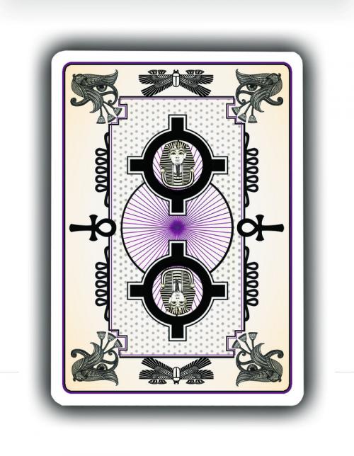 Tutankhamun Playing Cards'