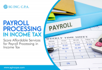 SG Inc CPA Payroll and Bookkeeping Service in Plano Logo