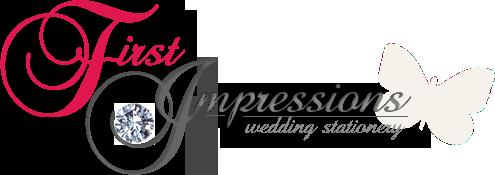 Company Logo For First Impressions Handmade Wedding Statione'