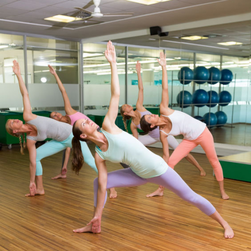 Hot Buns Yoga'