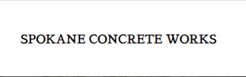 Company Logo For Spokane Concrete Works'