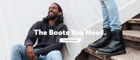 Olympus Mens Boots Logo