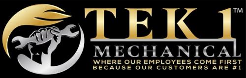 Company Logo For Tek1 Mechanical HVAC Contractors'