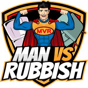 Company Logo For Man Vs Rubbish'