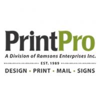 PrintPro Digital & Offset Printing Logo