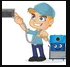 Chimney Sweep by Atlantic Cleaning Logo