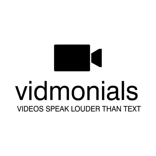 Company Logo For Vidmonials'