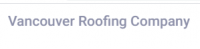 Vancouver Roofing Company Logo