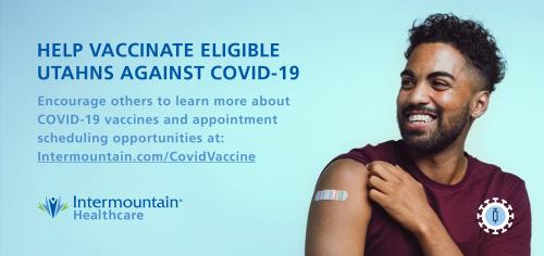 Intermountain COVID vaccine'