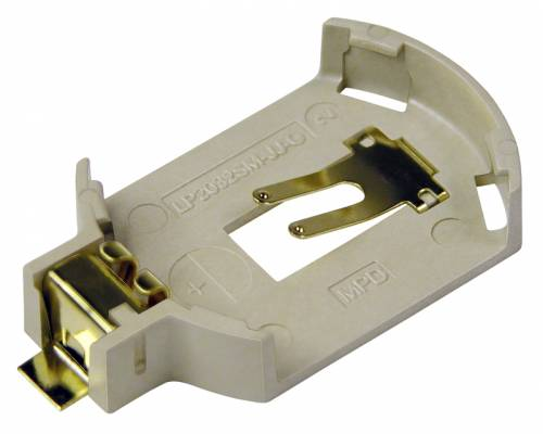Low Profile Coin Cell Battery Holder'