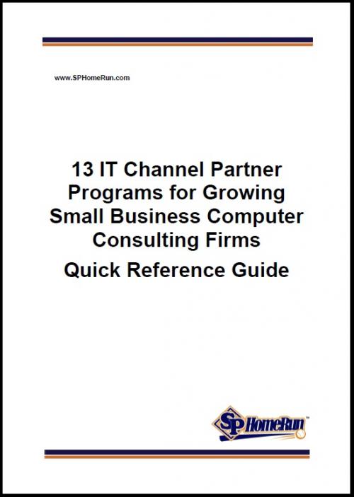 13 IT Channel Partner Programs (Download Free Report)'