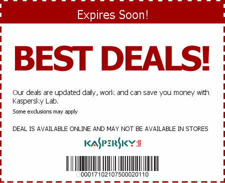 Kaspersky Coupon Code'