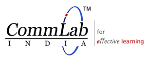 Logo for CommLab India'