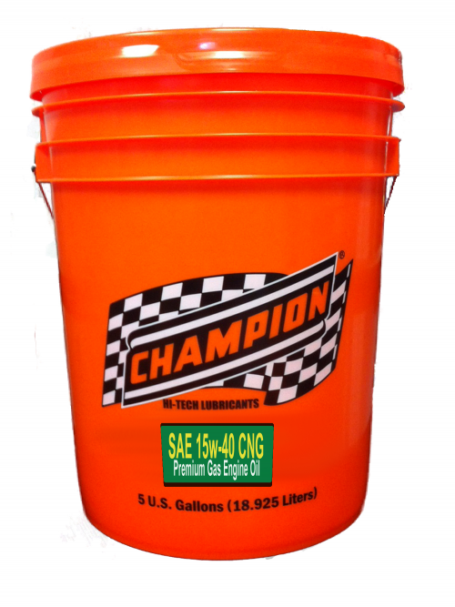 Champion CNG 15w-40 Oil'