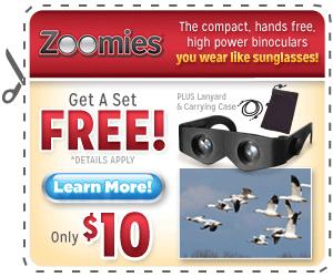 Zoomies Binoculars'
