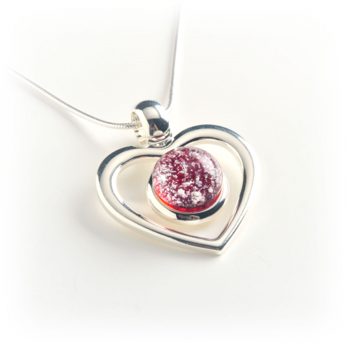 Red Heart Pendant'