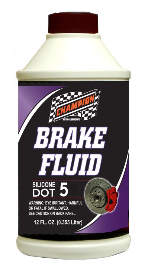 Champion Offers DOT 5 Brake Fluid'