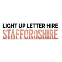 Light Up Letter Hire Staffordshire Logo