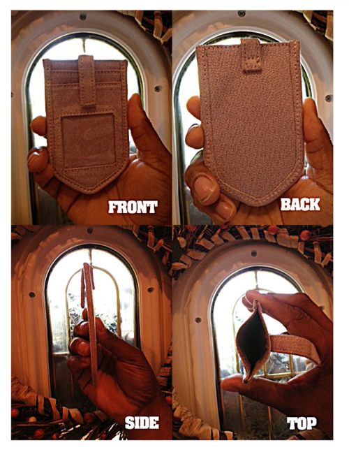 The Minimalists Slim Wallet and Stylus Pen'