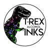 T-Rex Alcohol Inks