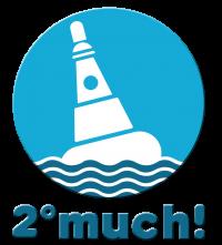 2ºmuch! Climate compensation Logo