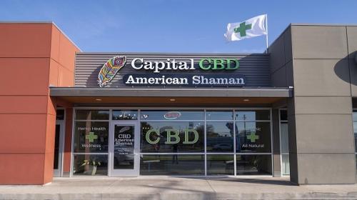 Company Logo For Capital CBD American Shaman'
