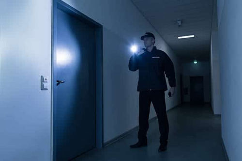 Commercial Security Service'