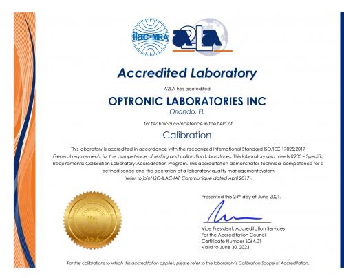 ISO/IEC 17025:2017 Accreditation'