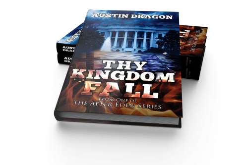 Book Cover of Thy Kingdom Fall'