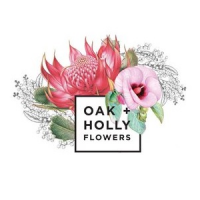 Oak & Holly Flowers Logo