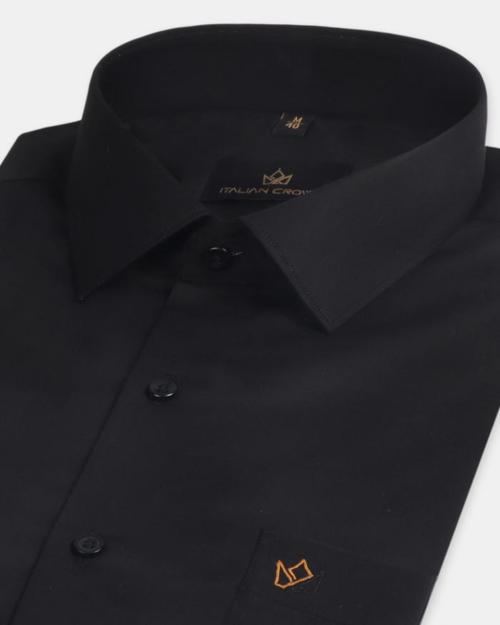 Company Logo For Italiancrown black shirt'