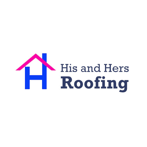 Company Logo For His and Hers Roofing'