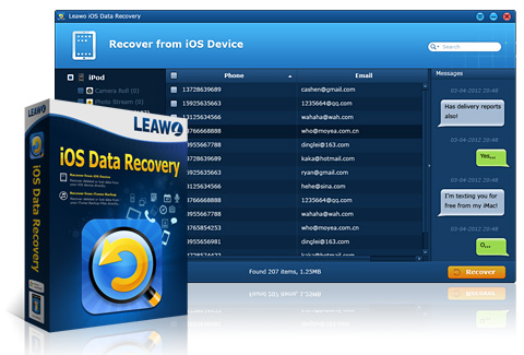 Leawo iOS Data Recovery'