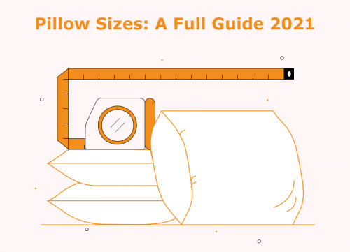 A full guide to pillow sizes'