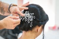 Jenazy Hair Salon Barbershop Logo