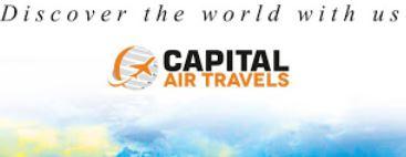 Company Logo For Capital Air Travels | Flight Ticket'