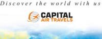 Capital Air Travels | Flight Ticket Logo