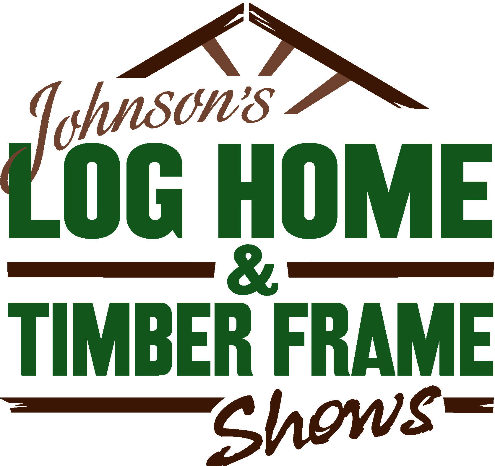 Johnson's Log Home & Timber Frame Shows Logo