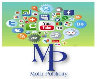 Mohr Publicity Ranks High in the World of Social Media Onlin'