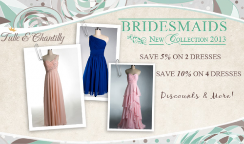 Tulle & Chantilly Bridesmaid Discount'