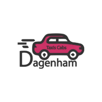 Dagenham Taxis Cabs Logo