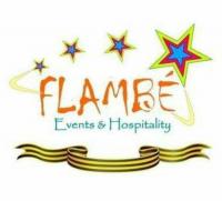 FLAMBE Events & Hospitality Logo