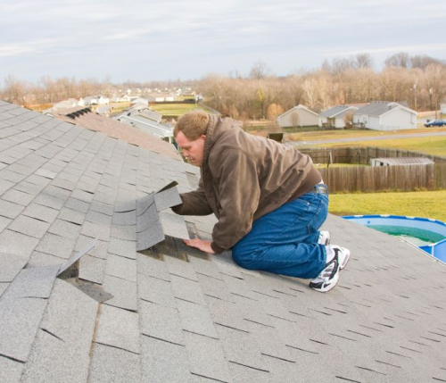 Brighton Roofing Company Roof Repair Image'