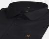Men Black Color Simple Regular Fit Cotton Shirt